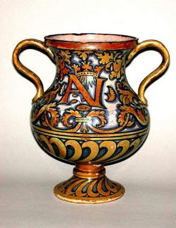 An image of Two-handled vase