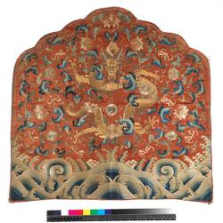 An image of Throne back cushion cover
