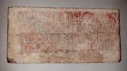 An image of Funerary inscription