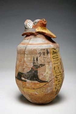 An image of Canopic jar lid