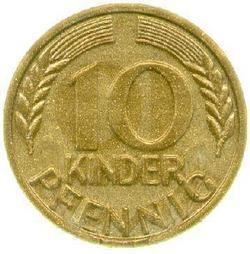 An image of 10 pfennig
