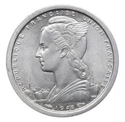 An image of 1 franc