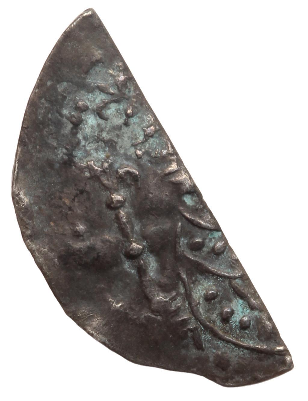 An image of Cut halfpenny