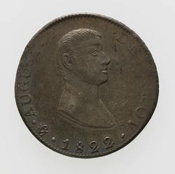An image of 8 reales