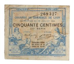 An image of 50 centimes
