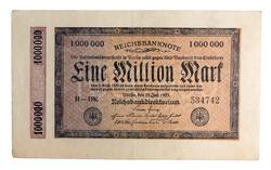 An image of 1,000,000 marks