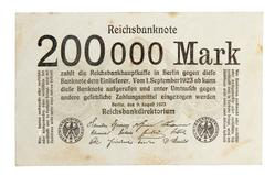 An image of 200,000 marks