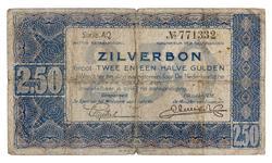 An image of 2.50 gulden