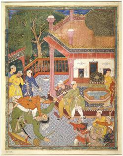 An image of Illustration from the Hamza Nama